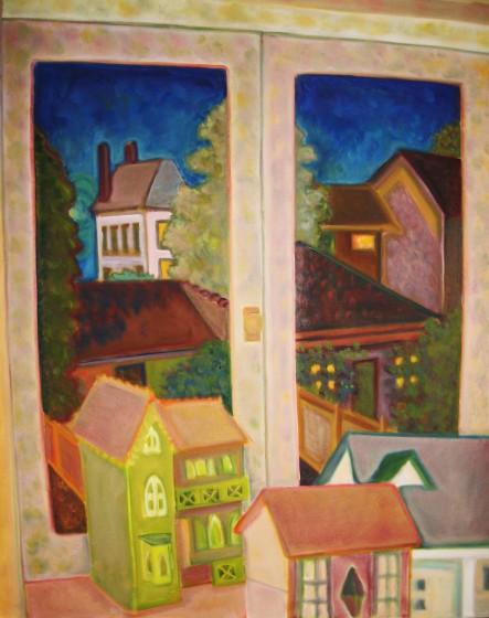 Houses, Night