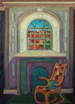 Interior, on Beacon Hill